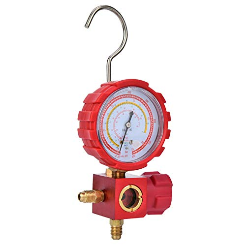 Refrigeración de aire acondicionado, con mirilla Sistemas de refrigeración de aire acondicionado de escala transparente, herramienta de refrigeración de aire acondicionado G1 / 4 para