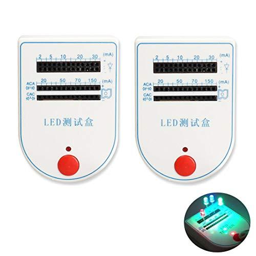LED-Testbox-Tester, 2 ~ 150 mA, praktisch, für Leuchtdioden, Leuchtmittel, Batterie-Tester, praktisches Gerät, LED-Tester