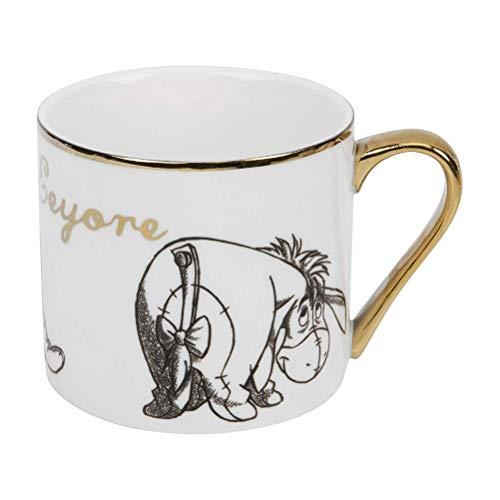 Taza del coleccionable de Disney Eeyore clásico con caja de regalo