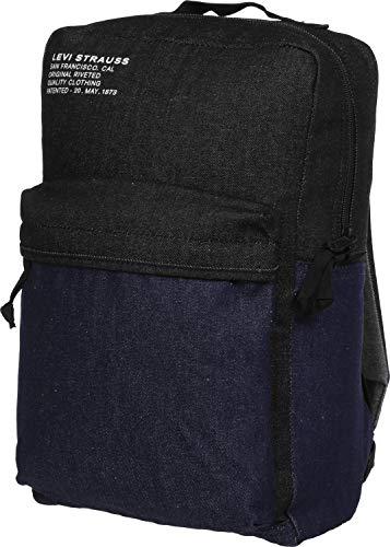 LEVI'S - Zaino L-Pack unisex in denim colorblock