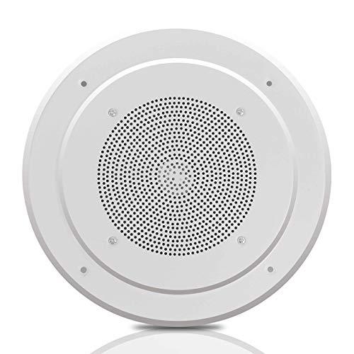 "Why Choose 8"" Ceiling Wall Mount Speaker - Full Range Woofer Speaker System 100 Volt Transformer F..."