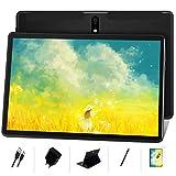 MEBERRY Tablet 10 Pulgadas HD IPS Ultra Rápido Android 10 Pro 8-núcleos 1.6Ghz Tableta 128GB Expandible - Certificación Google GMS - 8000mAh | WI-FI | Bluetooth | GPS(5.0+8.0MP Cámara), Negro