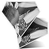 Impresionante pegatinas de diamante de 10 cm – Vanessa Cardui Bonita mariposa divertida calcomanías para portátiles, tabletas, equipaje, libros de chatarra, frigorífico, regalo genial #36172