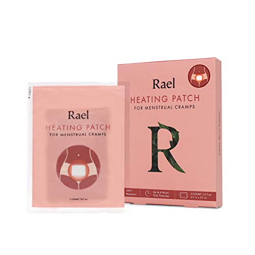 Rael Natural Herbal Heating Patch - PMS Relief Natural Heating Herb Therapy Patches (1 Pack/ 3 Count)