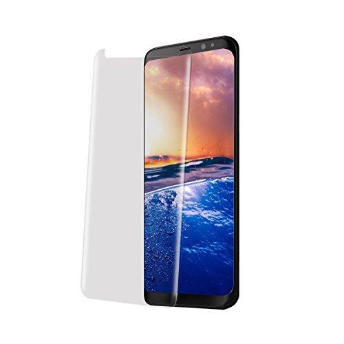 Croazhi Kompatibel mit panzerglas Galaxy S8/ S8 Plus Displayschutz panzerfolie Schirmschutz für Galaxie S8/ S8 Plus Premium Gehärtetem Glas Vollständige Abdeckung (Transparent,Galaxy S8 Plus)