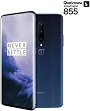 Oneplus 7 Pro GM1910 256GB, 8GB, Dual Sim, 6.67 inch, 48MP Main Lens Triple Camera, GSM Unlocked International Model, No Warranty (Nebula Blue)