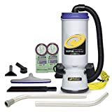 ProTeam Commercial Backpack Vacuum, Super CoachVac Vacuum Backpack with HEPA...