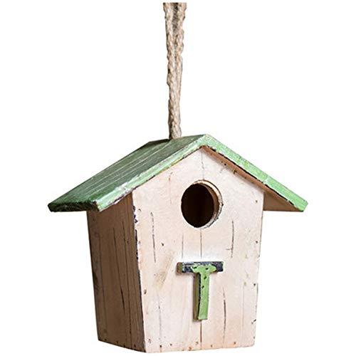 Casette per Uccelli Decorazione esterna for un'opzione regalo perfetta Bambini Arte e artigianato retrò Casette for uccelli Casetta for uccelli Casetta for uccelli in legno for casetta for uccelli per