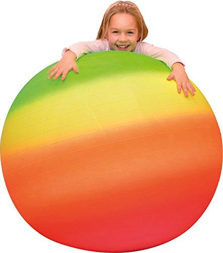 EDUPLAY 170328 Gymnastikball, Neon, 100 cm
