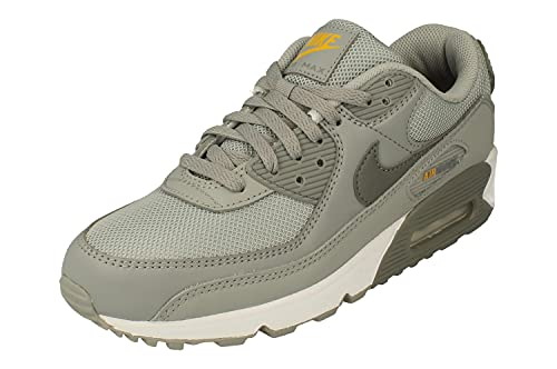 Nike Air MAX 90 Hombre Running Trainers DJ4598 Sneakers Zapatos (UK 6 US 7 EU 40, Light Smoke Grey Particle Grey 001)