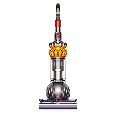 Dyson Small Ball Multi Floor Upright Vacuum Cleaner,Iron/Yellow