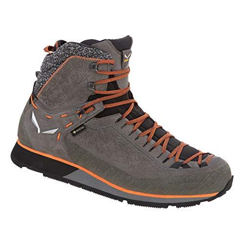 Salewa Herren MTN Trainer 2 Winter GTX Schuhe, Grey-Fluo orange, UK 10.5