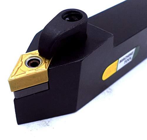 SHENYI Herramientas de torneado Herramientas de torneado de 16 mm 20 mm 25 mm MDPNN Torno CNC Mecanizado Arbor Cortador Externo Titular VNMG Boring for Corte de Metal Portaherramientas