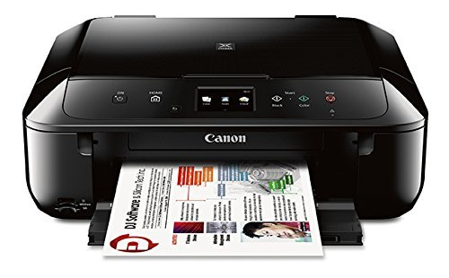 Canon MG6820 Wireless All-In-One Printer with Scanner and Copier: Mobile and Tablet Printing with Airprint and Google Cloud Print compatible, Black