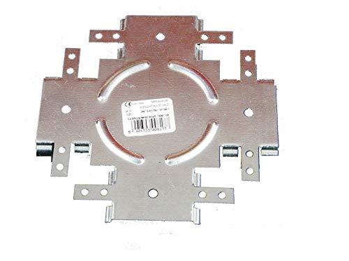 50Stk Niveauverbinder für CD-Profile Trockenbau Direktabhänger Deckenabhänge Q1