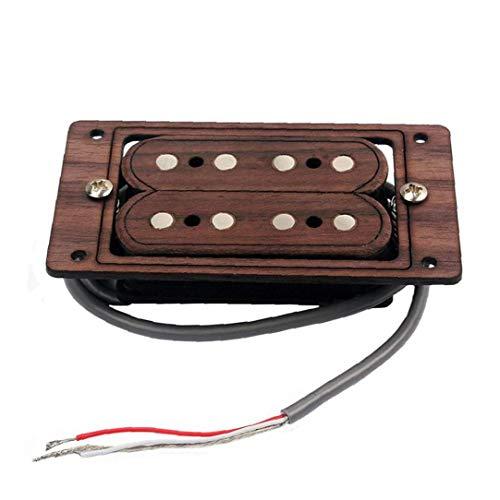 Pastilla de Puente de la Guitarra Guitarra eléctrica Humbucker Doble Bobina portátil...