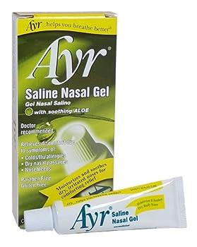 Ayr Saline Nasal Gel With Soothing Aloe 0.5 Ounce Tube