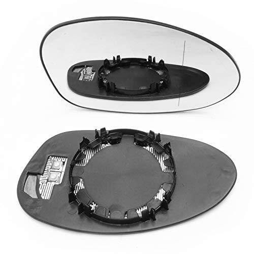 Underground Parts BM-E87-02R - Vetro di Ricambio per specchietto Laterale Destro