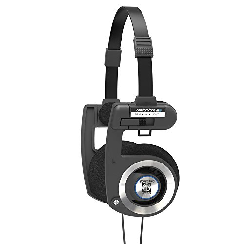 Koss Porta Pro Black On Ear Headphones with Case Black for 19.99