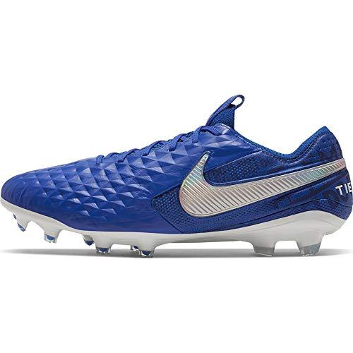Nike Legend 8 Elite Fg, Scarpe da Calcio Unisex-Adulto, Multicolore (Hyper Royal/White/Deep Royal Blue 414), 40.5 EU