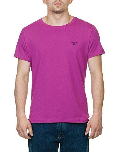 Gant Men's Man's T-Shirt In Blue Color In Size S Blue