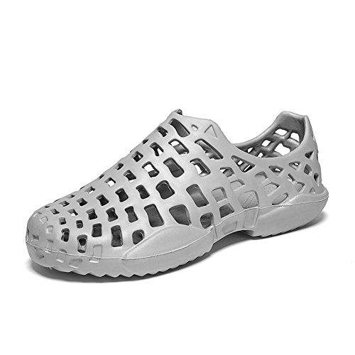 WOJIAO Unisex Sommer hohl atmungsaktiv Strand Sandalen Outdoor Light Mesh Hausschuhe schnell trocknende Paar Schuhe