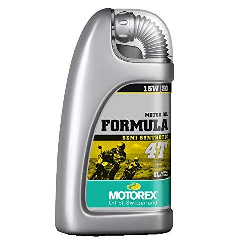 Motorex Formula 4T 15W50 Teilsynthetisches Viertakt Motorenöl 1 Liter