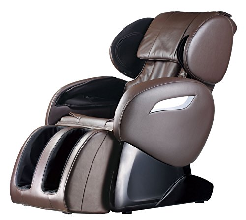 Massage Chair Zero Gravity Full Body Electric Shiatsu UL Approved Massage Chair Recliner with Foot Rollers Built-in Heat Therapy Air Massage System Stretch Vibrating Home Office PS4