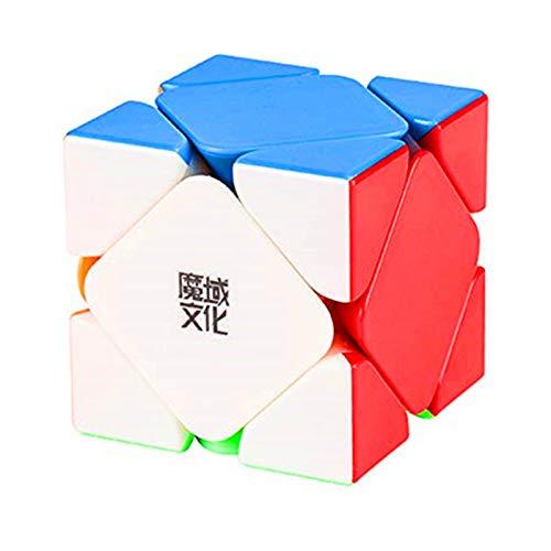 CuberSpeed Moyu Aoyan M Magnetic Skewb Stickerless Cube Moyu Aoyan Magnetic Skewb Speed Cube