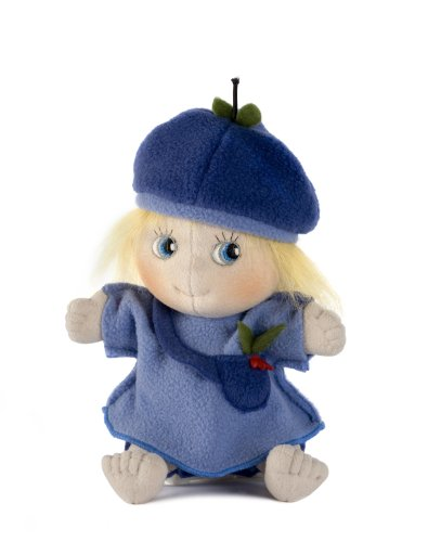 Rubens Barn 50.10042 Linne Myrtille Doux poupée, Multicolore
