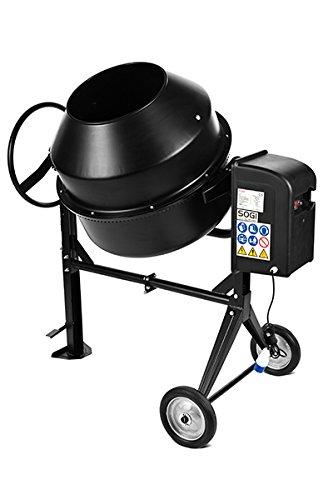 SOGI BEM-200 – Bétonnière électrique de 200 litres, 900 W