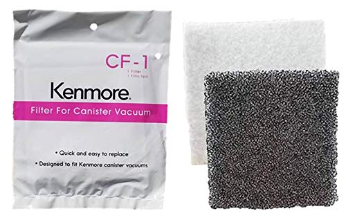 Kenmore UltraCare Replacement CF-1 Canister Vacuum Motor Filter 81002