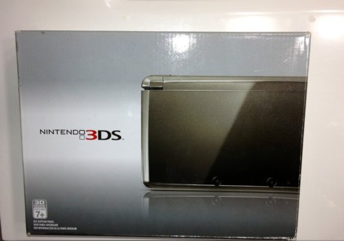 3DS Handheld Game Console Black,Includes Nintendo 3DS, AC Adapter, Stylus, 2GB SD Memory Card, and 6 AR Cards