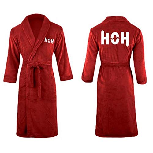 Big Brother HOH Luxury Embroidered Robe (Red)