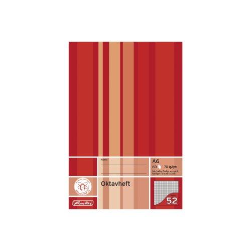 Herlitz 285635 Oktavheft A6 60 Blatt FSC Mix