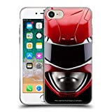 Head Case Designs Officially Licensed Power Rangers Red MMPR Famous Helmet Soft Gel Case Compatible with Apple iPhone 7 / iPhone 8 / iPhone SE 2020