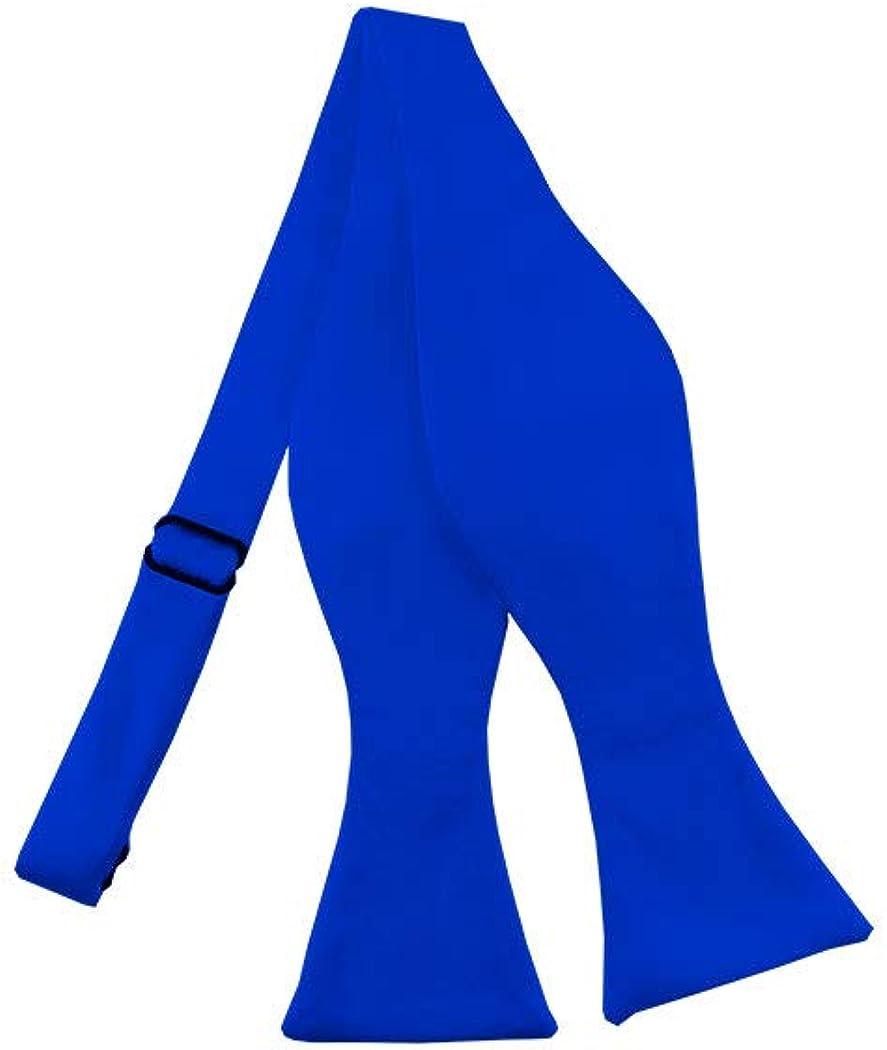 Solid Royal Blue Self-Tie Bow Tie