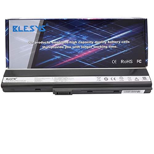 BLESYS 6 celle Batteria A31-K52 A32-K52 A41-K52 A42-K52 A41K52 compatibile con batteria per ASUS K52 K52F K52JB K52JC K52JE K52JK K52JR Batteria del notebook