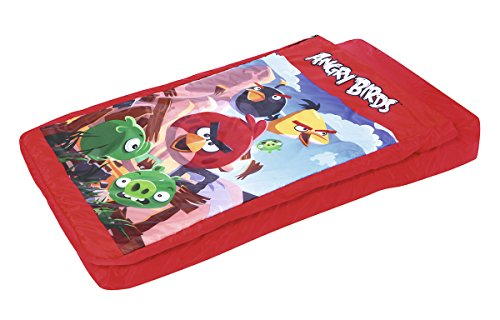Bestway Kinder 2-in-1Luftbett Angry Birds, 132 x 76 x 20 cm