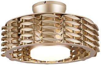 "Oceano Bladeless Ceiling Fan, 6 Speeds with Dimmable LED Light, 23"" (White)"