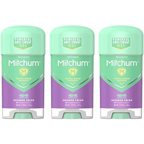 Mitchum Deodorant Womens Gel Shower Fresh 2.25oz (3 Pack)