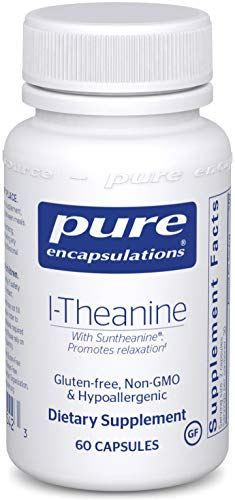 Pure Encapsulations l-Theanine | Amino Acid Supplement for Relaxation and Emotional Wellness* | 60 Capsules