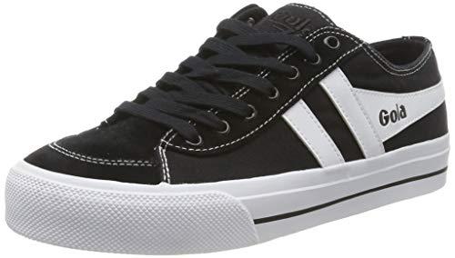 Gola Herren Quota II Sneaker, Schwarz (Black/White BW), 42 EU