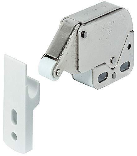 1 x Mini Touch Catch Verriegelung Schränke Wohnwagen Wohnmobil Schranktüren Top Qualität