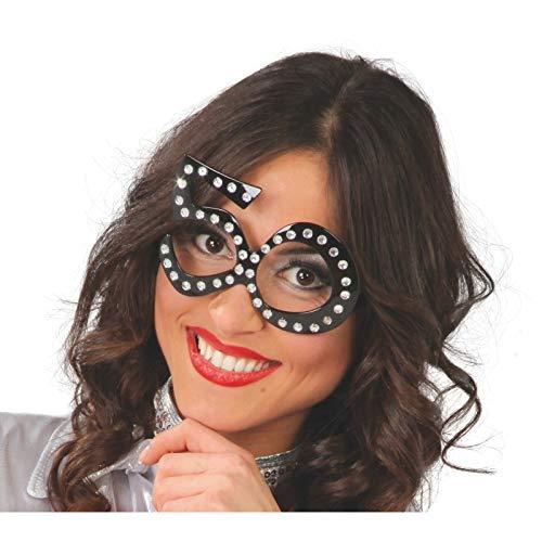 Guirca- Gafas 50 años, Color Negro (7124)