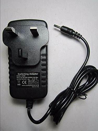 UK 12V AC Power Adapter Charger for Acer Iconia A100 A200 A500 A101 A501 Tablet