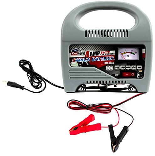 Kmt Style Cargador batería para Coche Moto 6-12v, Carga rápida.