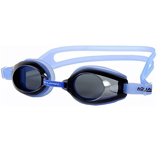 Aqua-Speed Avanti Schwimmbrille für Herren und Kinder Einheitsgröße transparent/blau