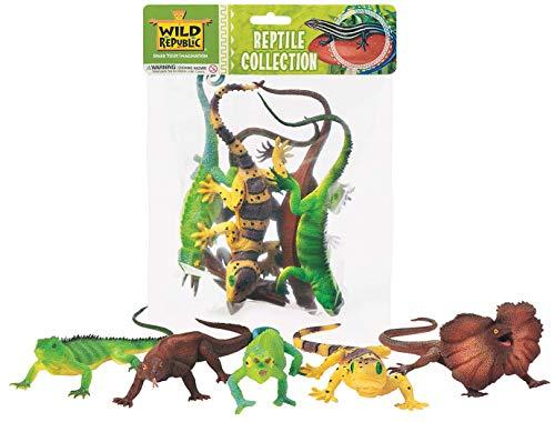 Wild Republic 53540 - Colección de Juegos Reptiles, 5 Partes