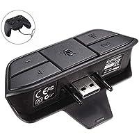 Delaman Adaptador de Auriculares Xbox - Conversor de Auriculares Estéreo Audio Chat Mic para El Controlador de Juegos Xbox One de e Microsoft